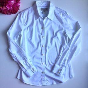 Banana Republic Non Iron White Button Down Shirt